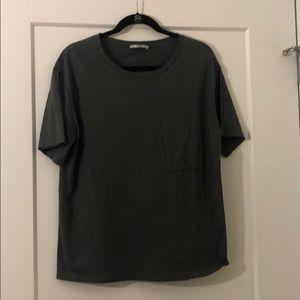 Zara | Oversized Pocket T-Shirt